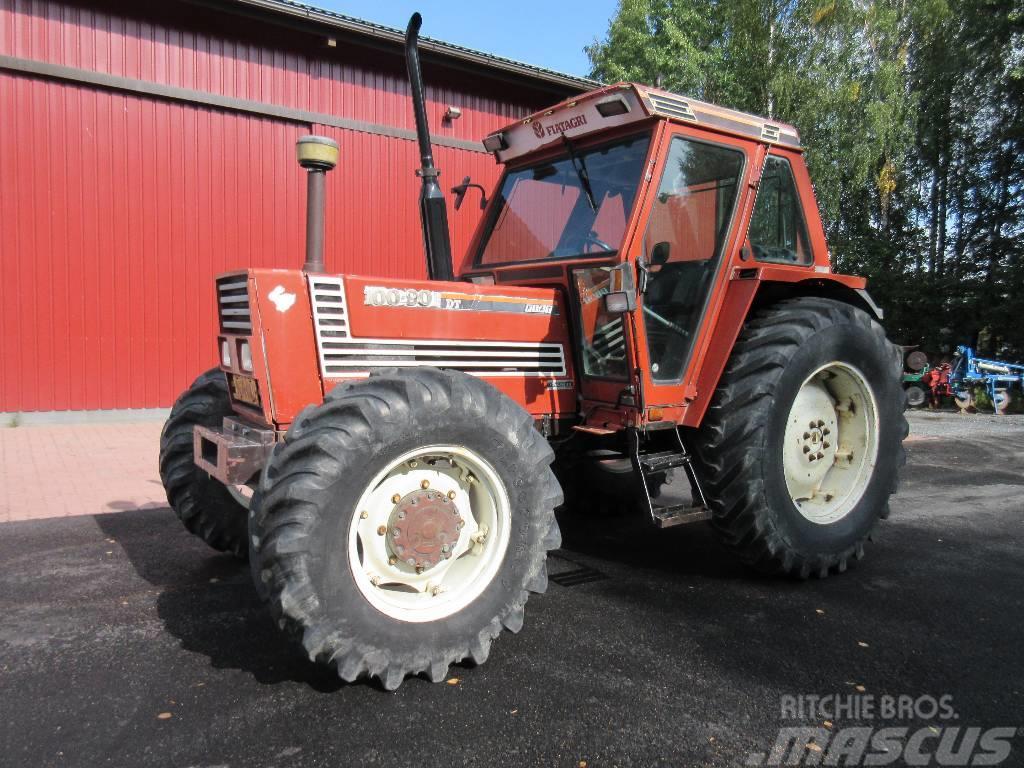 Fiat 100-90 DT til salgs, 1991 i Niemisjärvi, Finland - brukte traktor - Mascus Norge