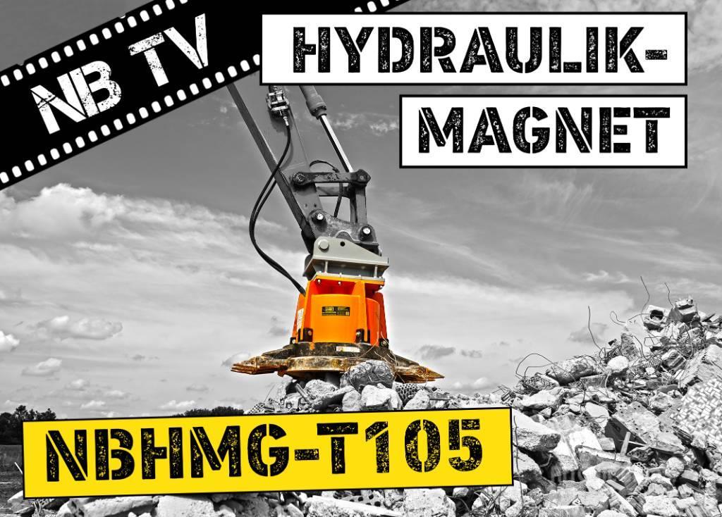 [Other] Hydraulikmagnet NBHMG T105   Baggermagnet   19-23t