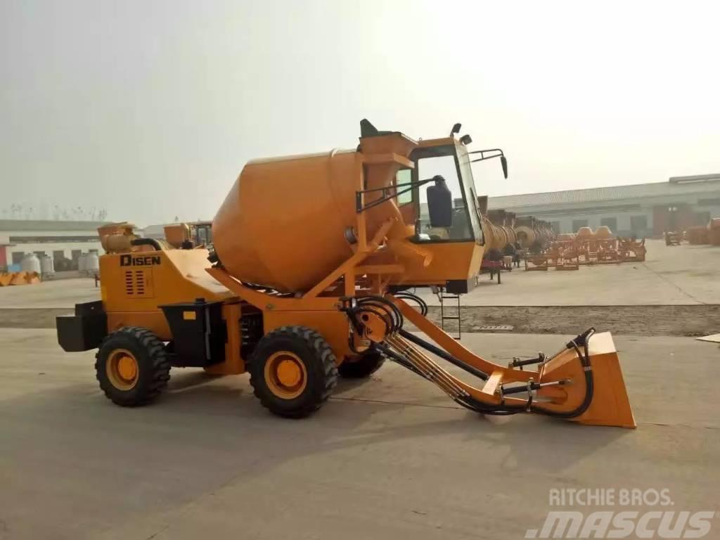 Disenwang 迪森王  DZJC- Concrete mixer 0.1