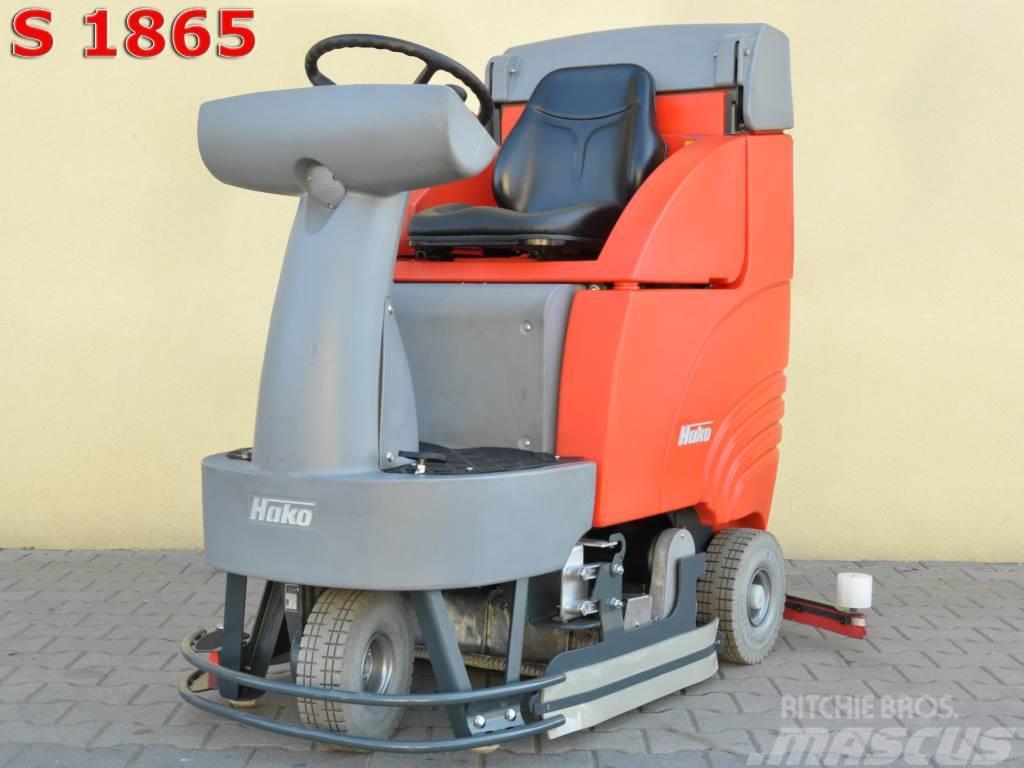 [Other] Scrubber dryer HAKO B 750 RW