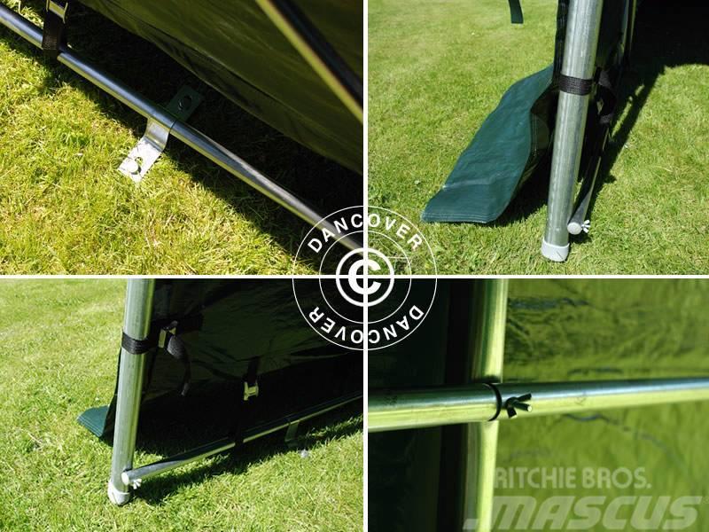 Dancover portable garage 3 6x7 2x2 7m pvc lagertelt for Prix espace vert m2