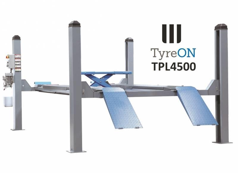 TyreOn TPL4500 Four Post Lift - up to 4500 kg