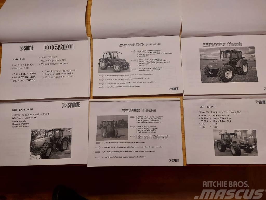 Same Myyjän käsikirjoja traktoreihin