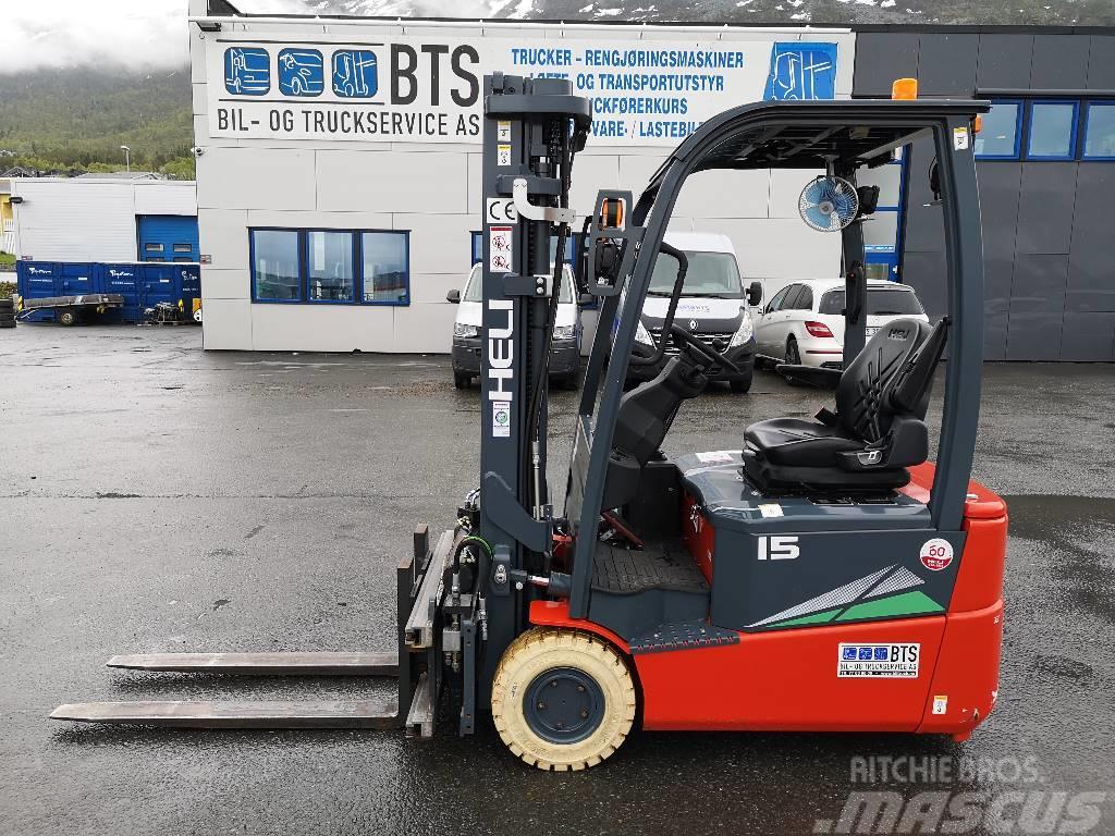 Heli CPD15SQ-GB2 - 1,5 tonns el. truck (PÅ LAGER)