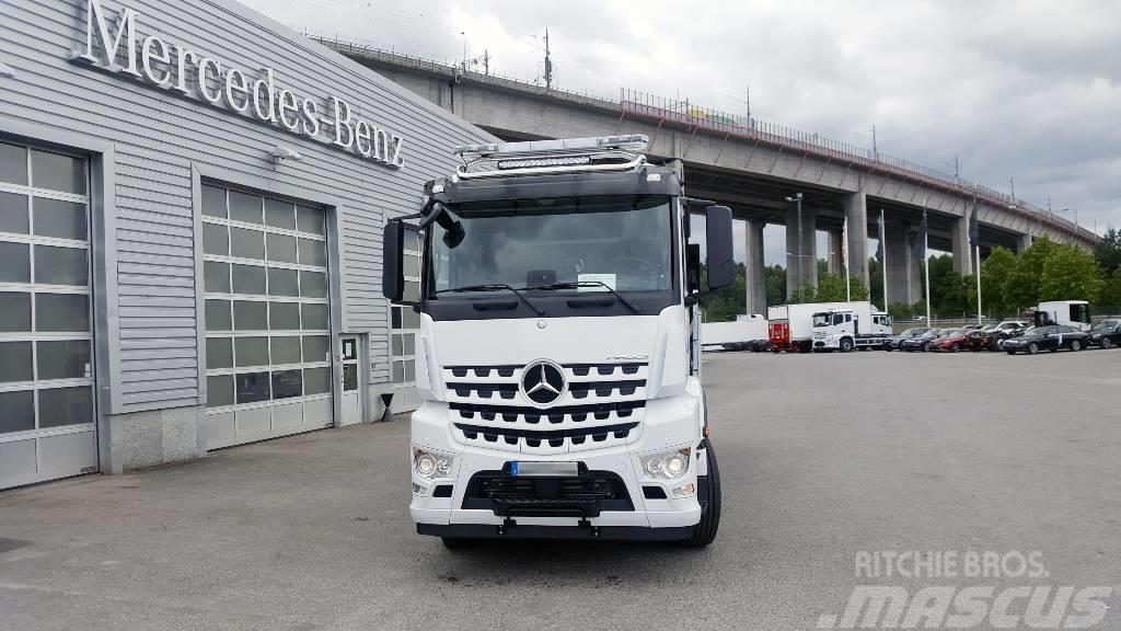 Mercedes-Benz Arocs 3253 Meiller - Schaktbil - Tridem