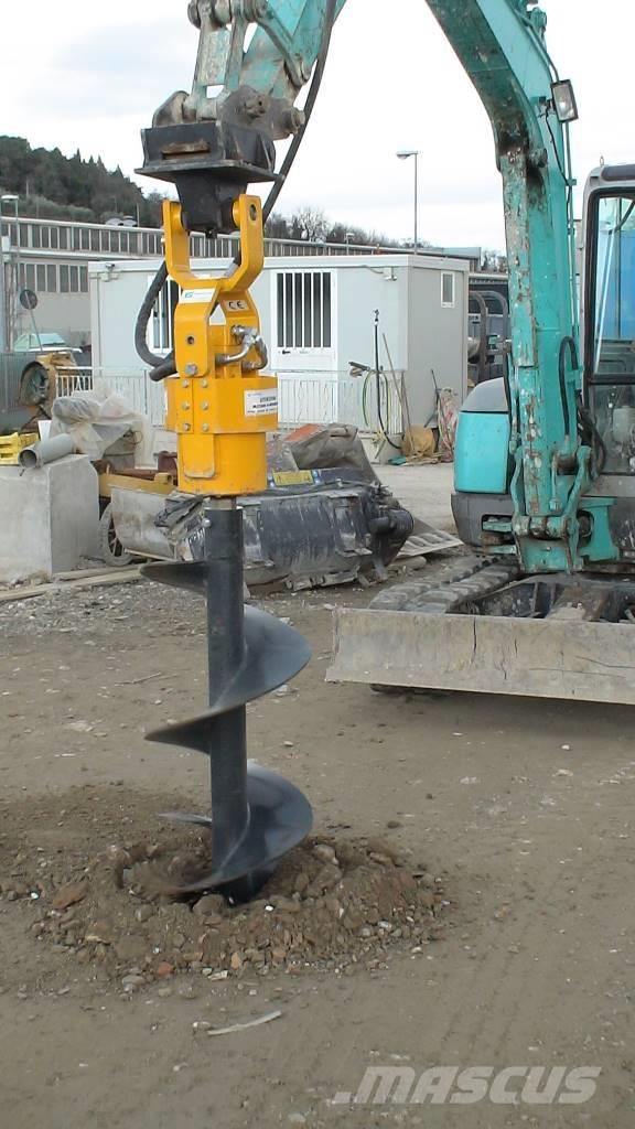 Ghedini Auger drive unit for midi and big excavators