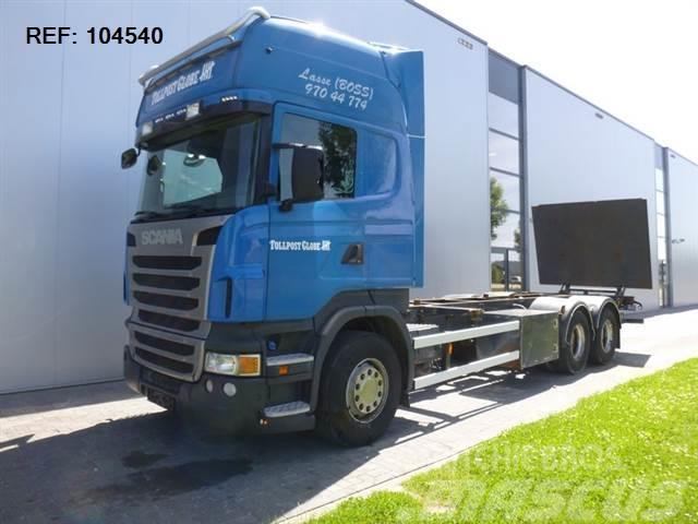 Scania R480 6X2 BDF RETARDER EURO 5