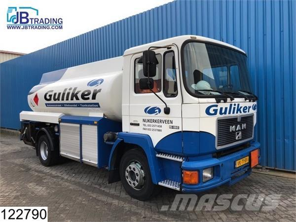 MAN 15 192 Fuel tank, 10500 Liter, 3 Compartments, Ste