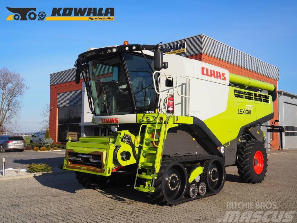 CLAAS Lexion 770TT + V1050