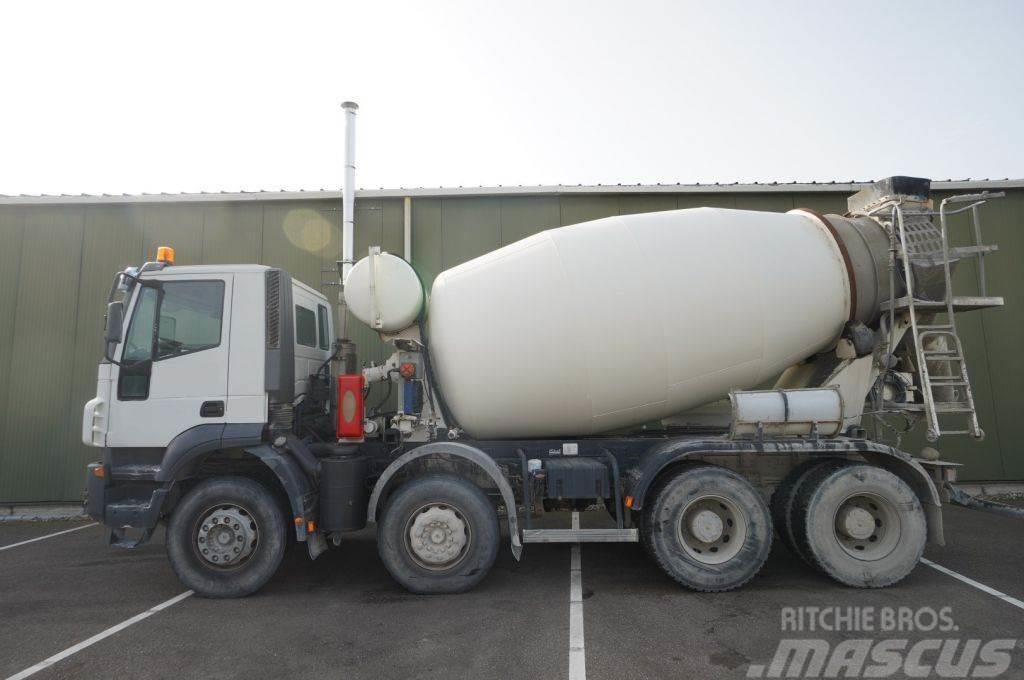 Iveco TRAKKER 380 8X4 9 m3 MIXER 41.000KM