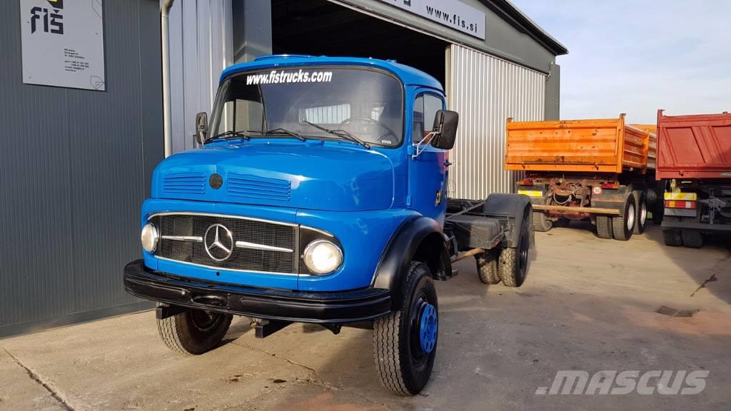Used mercedes benz 911 4x4 long nose 4x4 chassis top cab for Mercedes benz truck 4x4