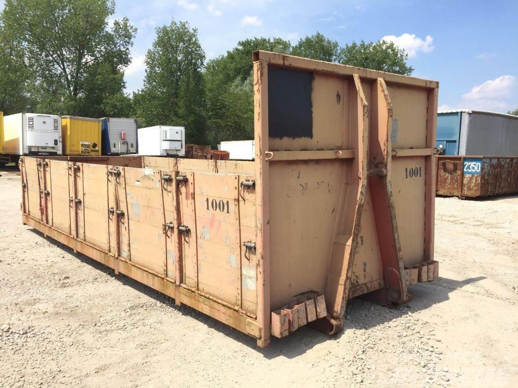 Universal Schottenbak 25m³ containerbak container