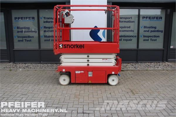 Snorkel S3219E Only 52 Hours! Electric, 7.79m WH, Drive Th