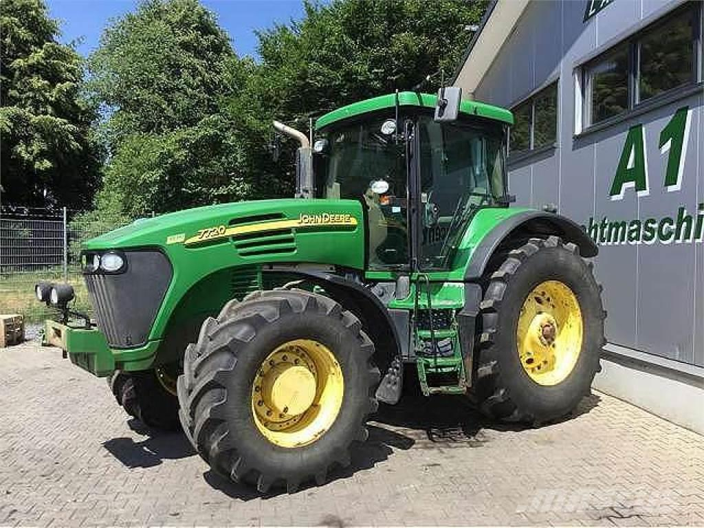 used john deere 7720 allrad traktor tractors year 2006. Black Bedroom Furniture Sets. Home Design Ideas