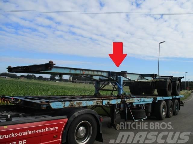 """LAG Oplegger 20/40"""" container trailer"""