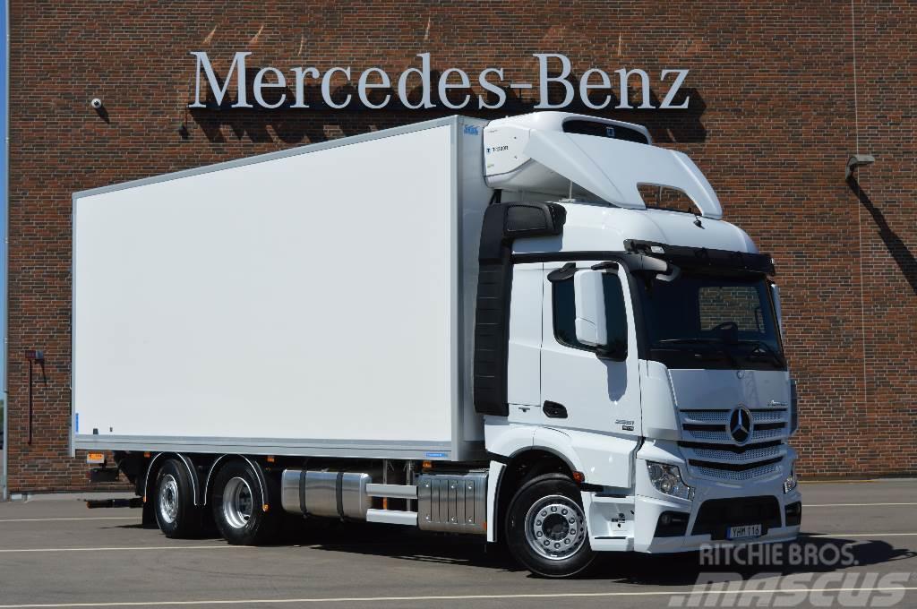 Mercedes-Benz Actros 5 Mirro 2553L FRC skåp omgående leverans!
