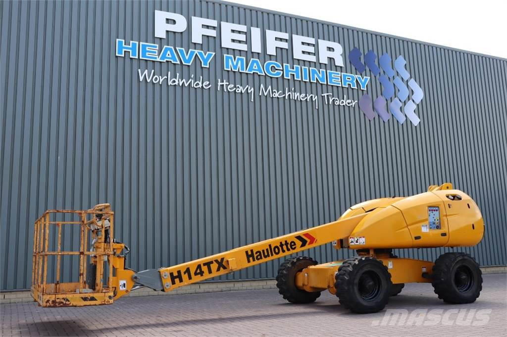 Haulotte H14TX Diesel, 4x4 Drive, 14,07m Working Height, 10