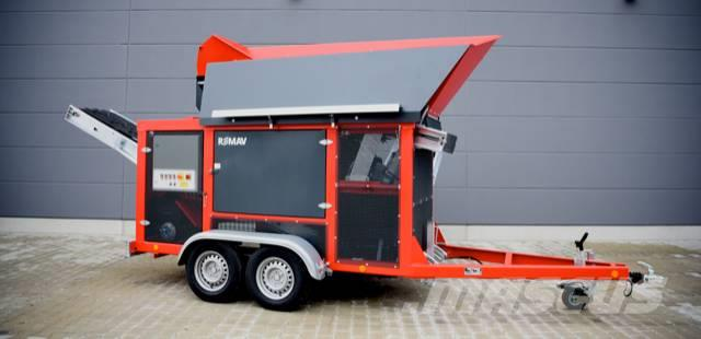 [Other] REMAV RS1500 Mobil Recycling Tromle Sorter