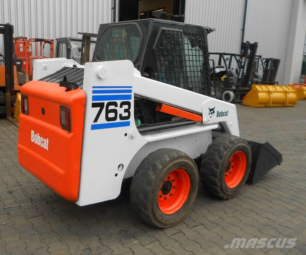 ... Bobcat 763 jak Volvo JCB CAT, 2002, Skid Steer Loaders ...