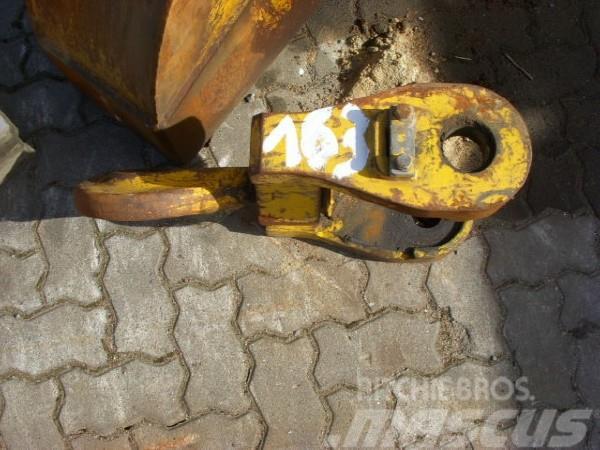 Liebherr (163) toggle + load hook / Lasthaken