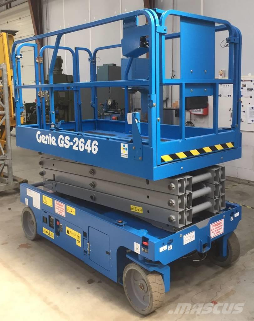 Genie GS 2646, Scissor Lifts ...