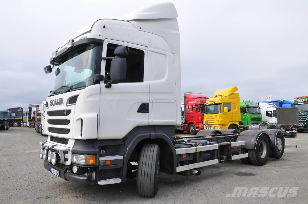 Scania R500 6x2 Euro 5