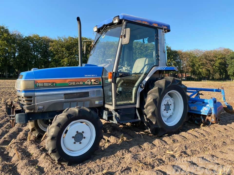 Iseki Geas 314 minitrekker tractor kubota solis fendt