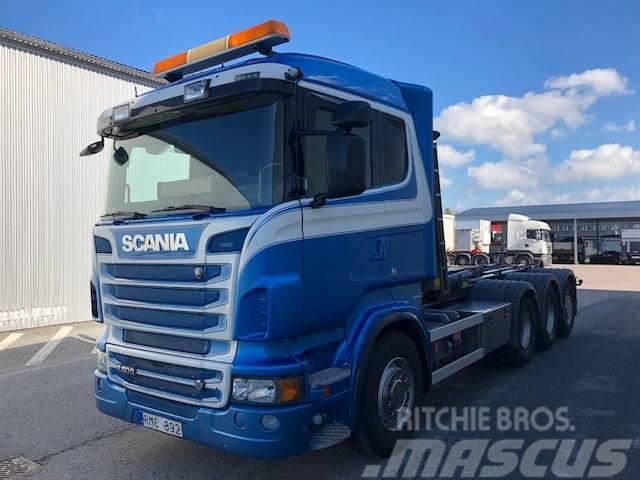 Scania R5008x4*4 Lastväxlare,   950 000:-