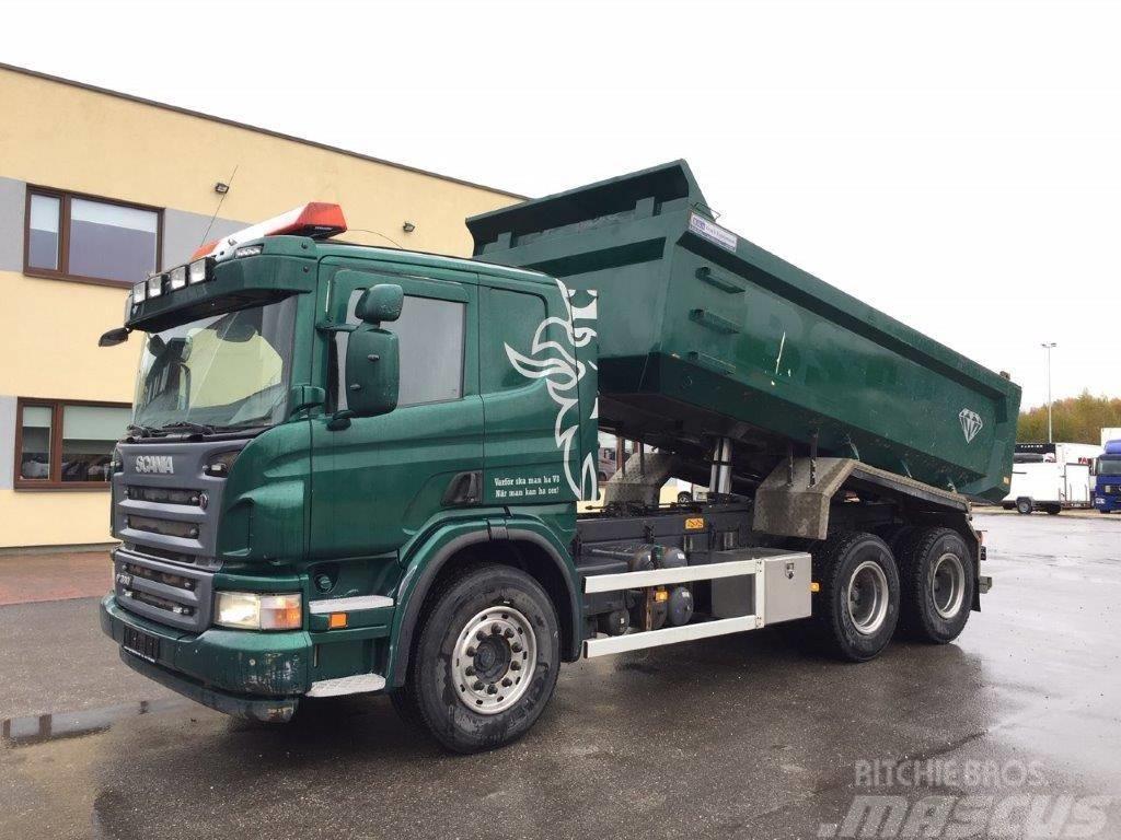 Scania P360 6x4+EURO5+FULL STEEL