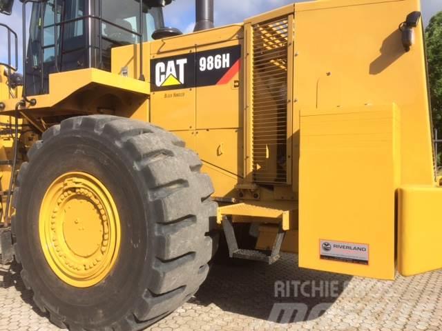 Caterpillar 986H demo machine, 2015, Hjullastare