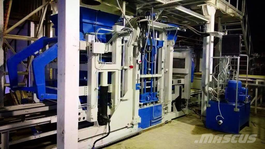 Metalika RVP-5000 Automatic Concrete Block Machine