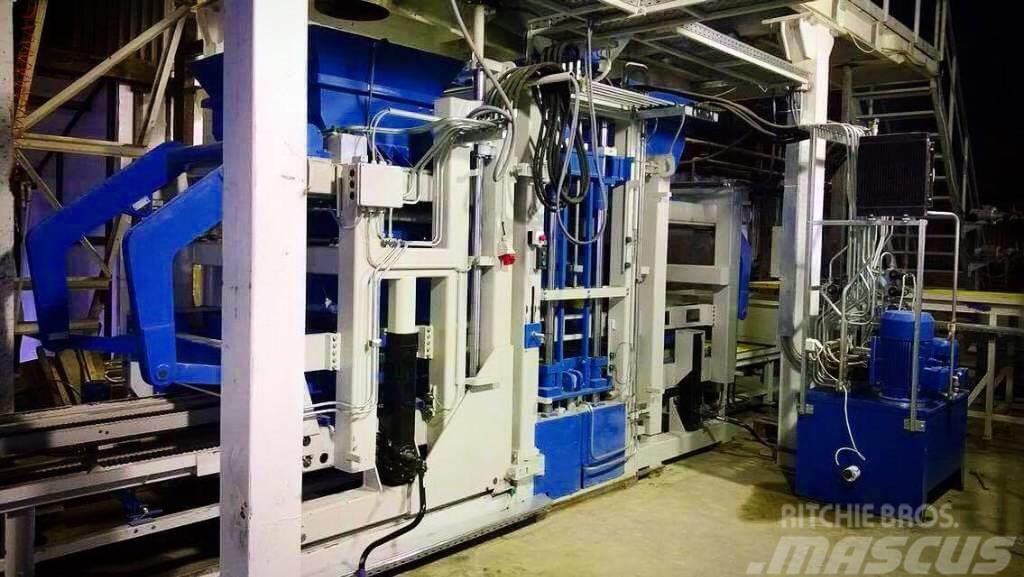 Metalika VPS-5000LX Concrete Block Machine Automatic