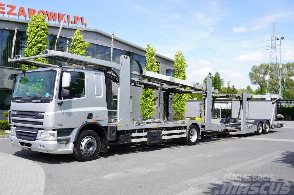 DAF CF75.360 , E5 , LOHR + trailer set , 9 cars