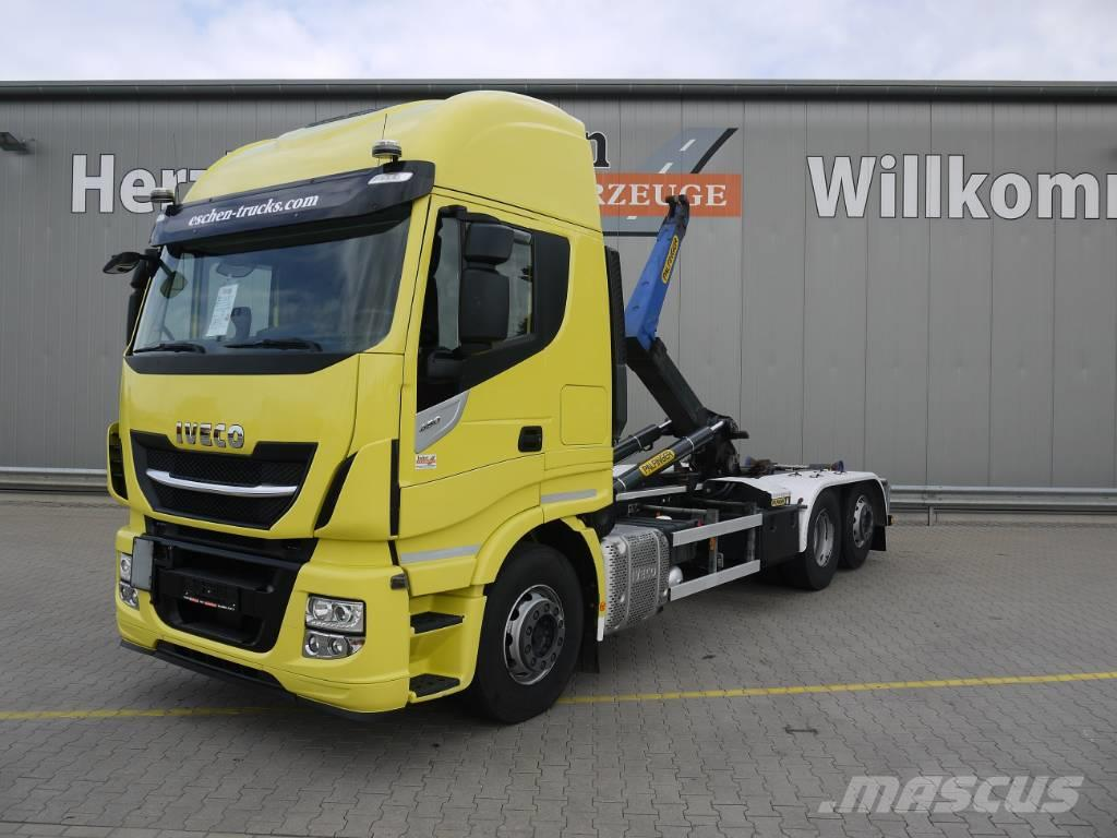 Iveco AS 260 S 48 Y/PS, Palfinger T 20-31 Abrollkipper