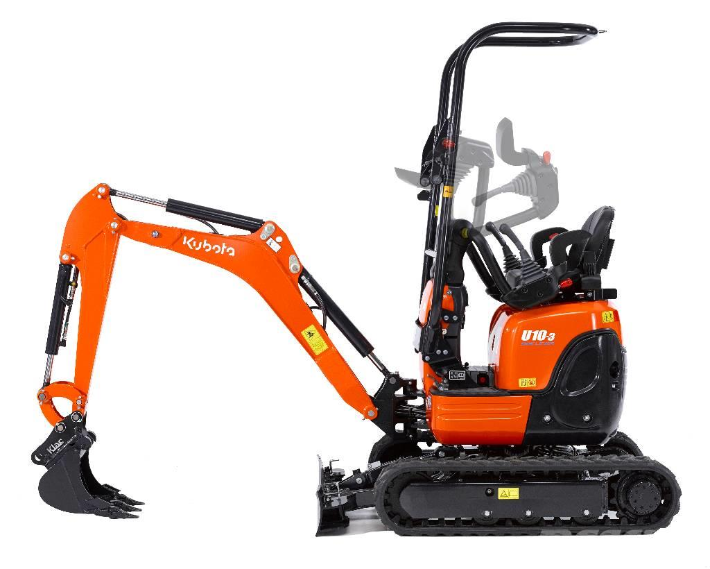 kubota gr vmaskin u10 3 p lager minibagger. Black Bedroom Furniture Sets. Home Design Ideas