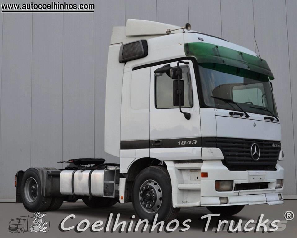 Mercedes-Benz 1843 Actros, 2003, Dragbilar