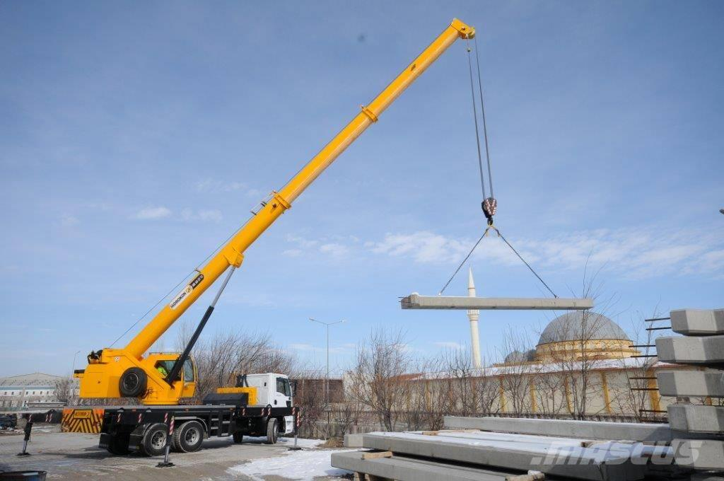 Mobile Crane Machine : Used hidrokon hk t other lifting machines year
