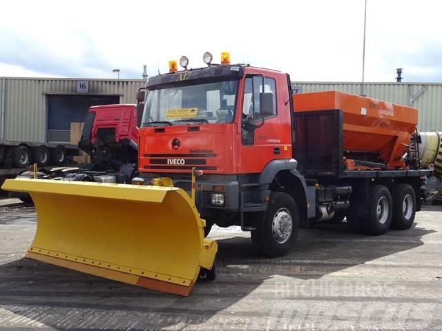 Iveco MP380E34 Snow Plow Winter Service 6x6 Good Conditi
