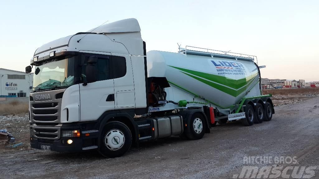 Lider new trailer cement tanker new model silo 2018