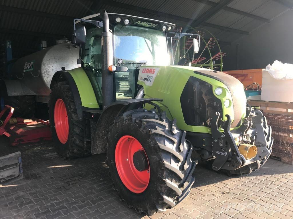 CLAAS Arion 640 Cis, fronthef + 1000Eco front pto