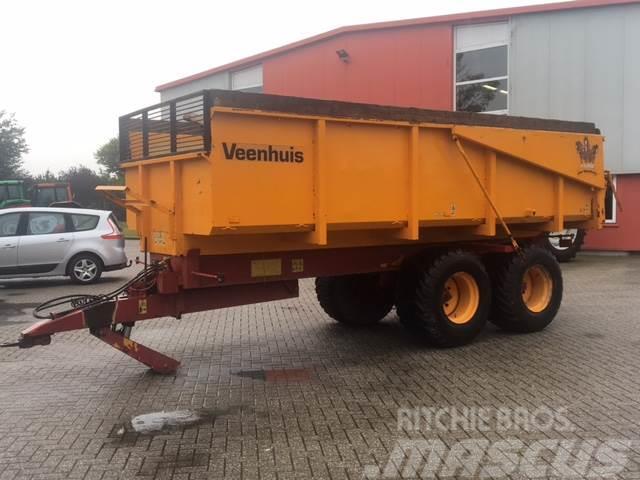 Veenhuis JVK 13000 kipper 13 ton kiepwagen