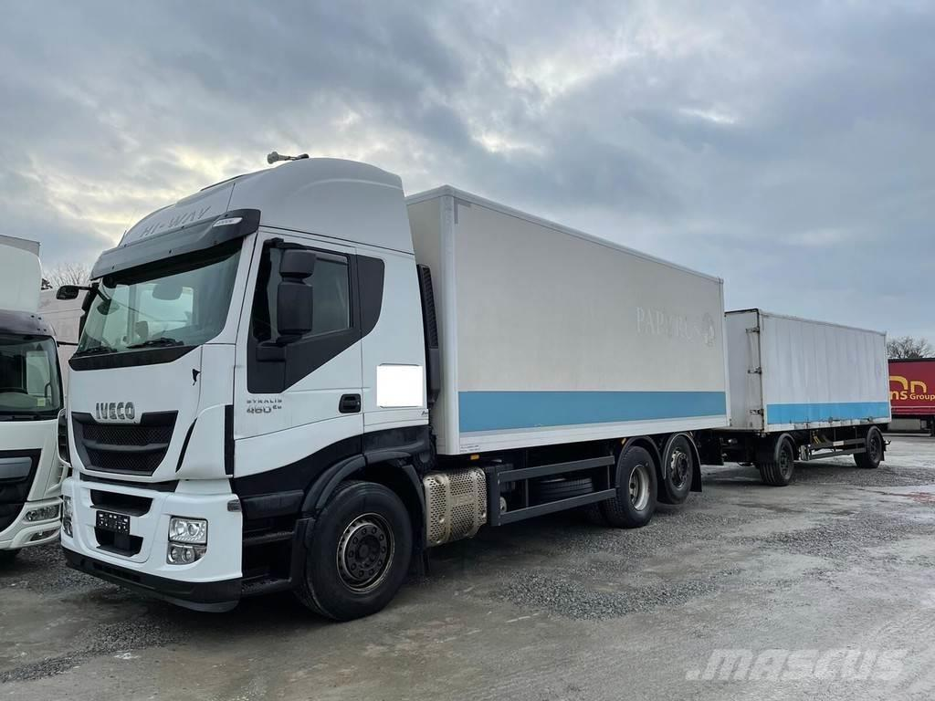 Iveco Stralis 460E6 6x2 Lenkachse Durchlader (20)