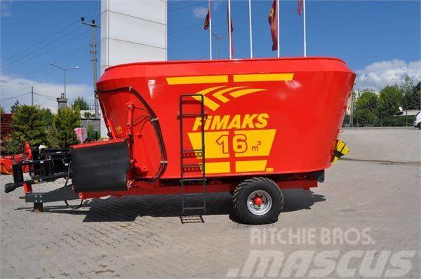 Fimaks Futtermischwagen 16m3 FMV 16 F/ feeding mix