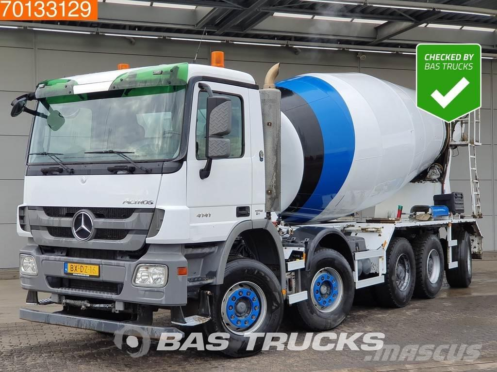 Mercedes-Benz Actros 4141 B 10X4 15m3 Big-Axle Steelsuspension L