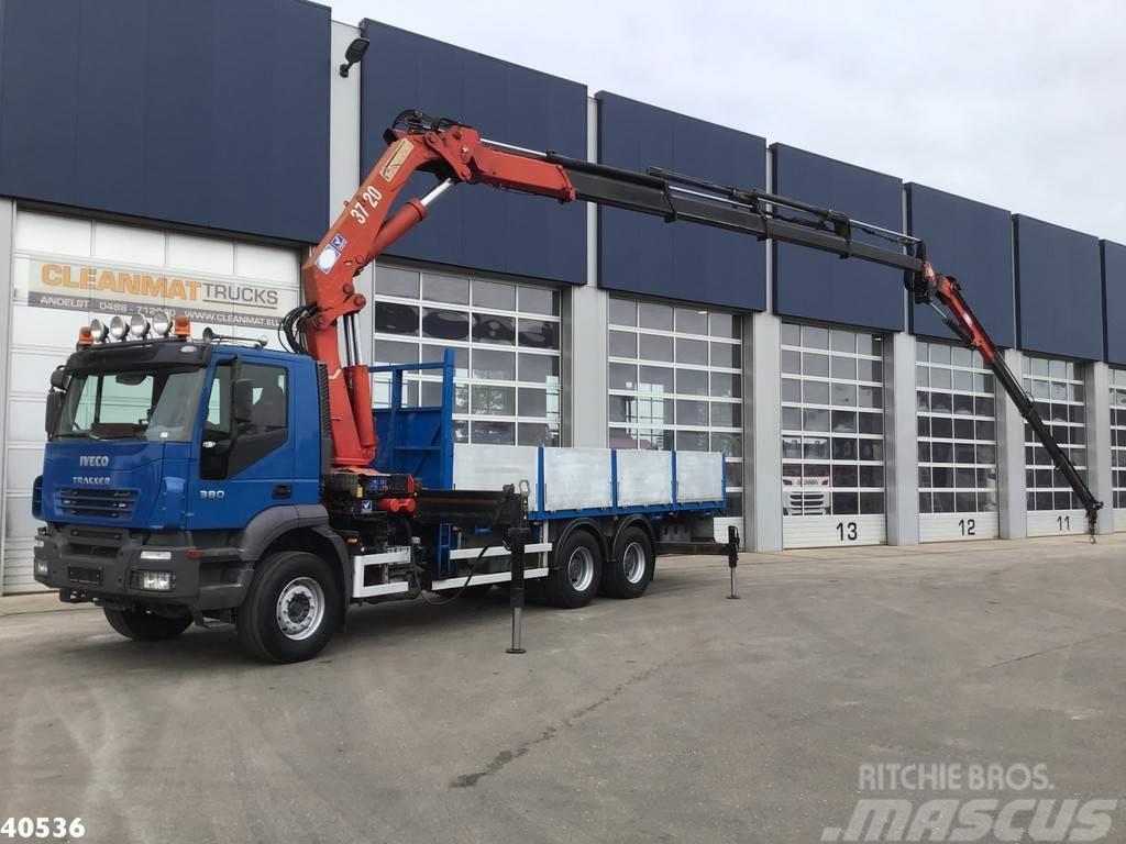 Iveco Trakker AD260T38 6x4 HMF 37 ton/meter + JIB