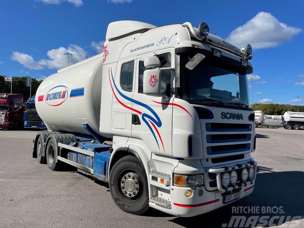 Scania R580LB6x2*4HNB Bulktank Tipp