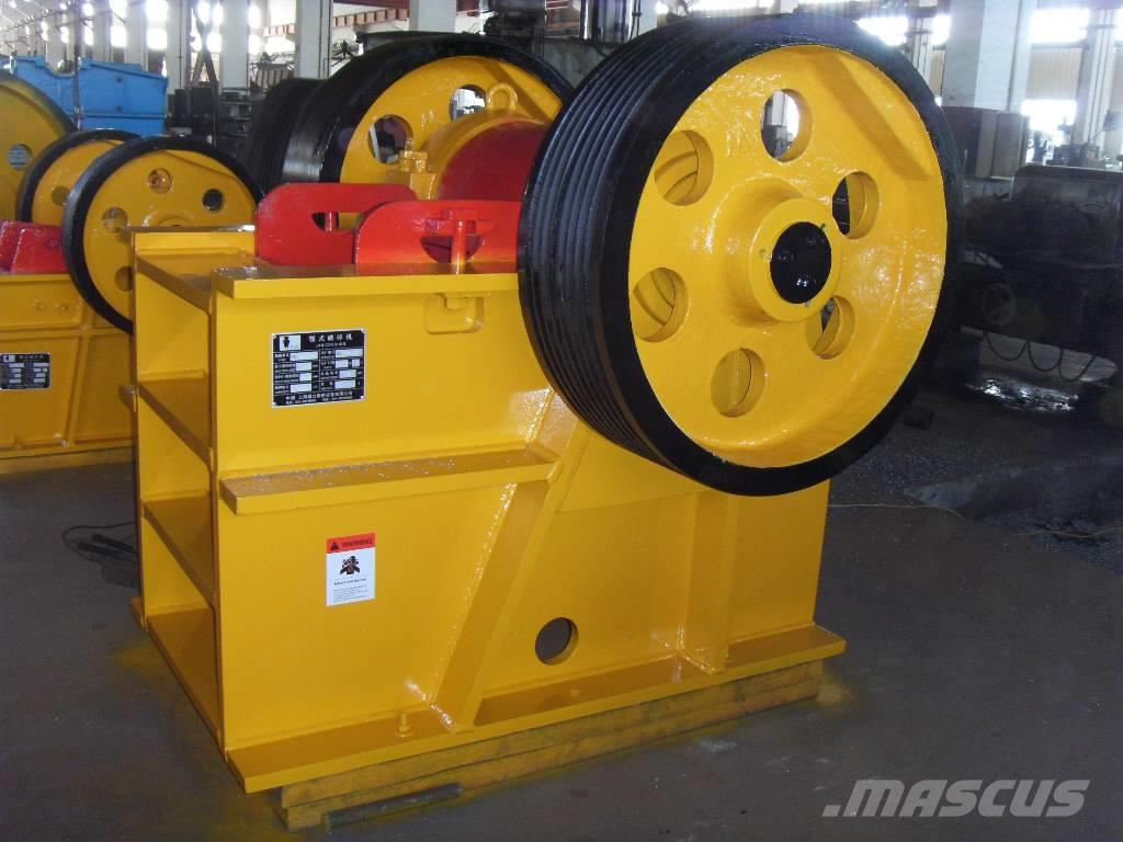 White Lai Small Stone Rock Jaw Crusher PE-400x600, 2017, Krossar