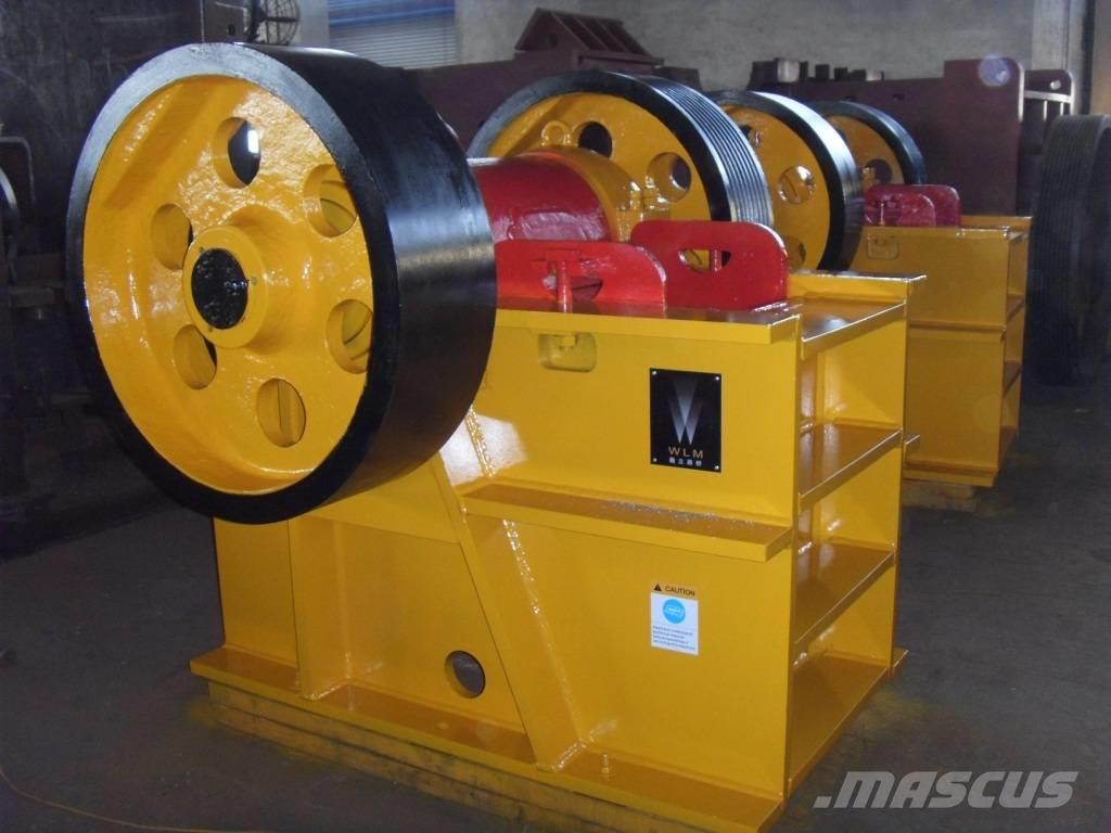 White Lai Small Stone Rock Jaw Crusher PE-400x600