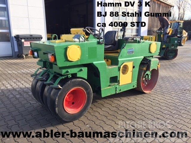 Hamm DV 3K, Kombiwalze