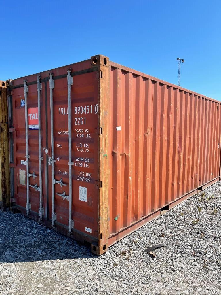 Container Förråd 20 fot Sjöcontainer